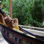 Relaxare în hamac