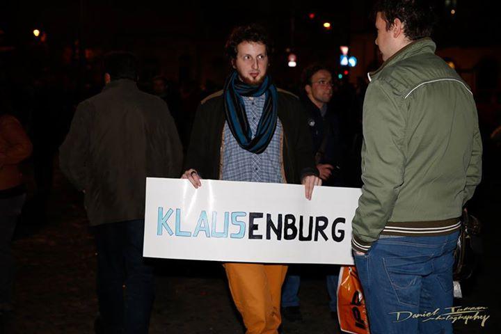 votez cu Klaus…enburg