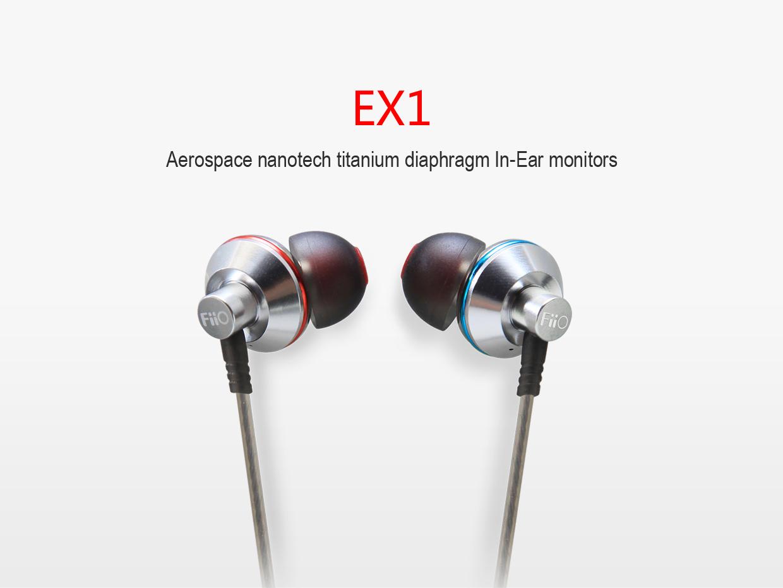 FiiO EX1 – cum trebuie să sune niște căști in-ear